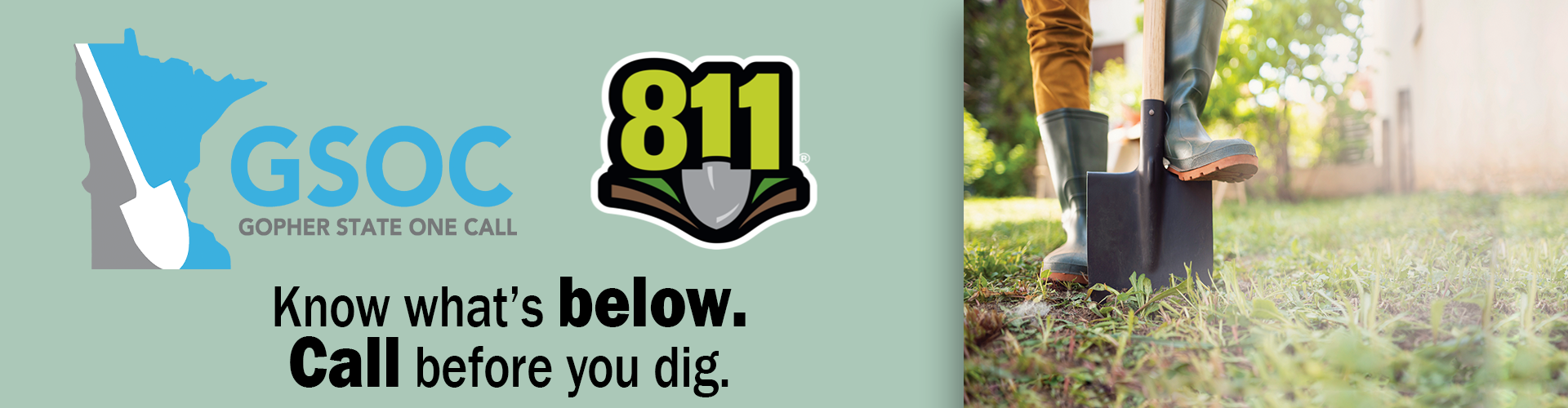 Call 8-1-1 Before You Dig